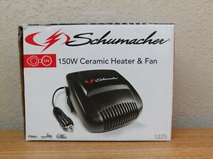 Schumacher 150W Ceramic Heater & Fan 12V