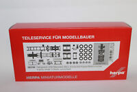 Herpa 083768  Fahrgestell Mercedes-Benz 8x4 Baufahrzeug  1:87 H0 NEU in OVP