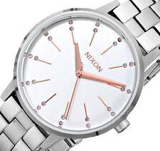 NEW $125 Nixon Women's Kensington Bracelet Stainless Steel Watch A099-1519
