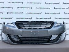 PEUGEOT 308 GTI 2013-2017 FRONT BUMPER IN GREY WITH GRILL GENUINE [C75]
