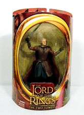 LOTR Two Towers King Theoden Armor Sword Attack Action Figure Toybiz 2002 MINT