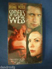NEW Spider's Web (VHS, 2002) 043396099548
