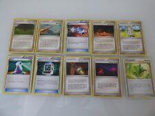 10 Pokemon Trainer Cards - Common - Uncommon - English - Mint