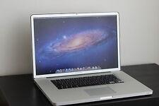 "Apple MacBook Pro 17"" 2,4 GHz i7 8 GB RAM 256 SSD GB  -TOP ZUSTAND"