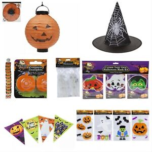 HALLOWEEN DECORATIONS Window Stickers Cling Spooky Hanging Party Decor - UK
