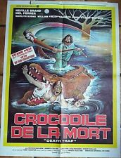 Affiche CROCODILE DE LA MORT (Mel Ferrer) 80x60 cm