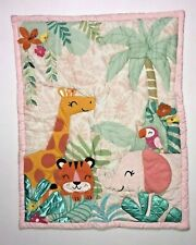 Jungle Animals  Baby Girl Crib Comforter Only - See Details 🏸