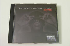 JAY-Z - THE BLACK ALBUM ACAPPELLA CD 2003 (ROC-A-FELLA)