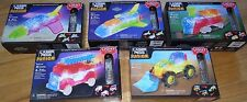 Set of 5 Laser Pegs Junior Light-Up Toy Jet Space Construction Rescue Train