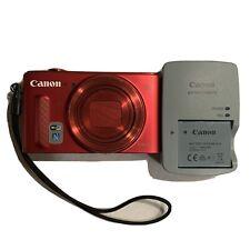 Canon PowerShot SX610 HS 20.2MP Digital Camera - Red