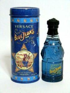 NIB* Versace Blue Jeans Man Eau de Toilette Natural Spray 2.5 Fl.Oz/ 75 m Italy
