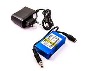 Ups Power Supply Lithium Battery Rechargeable 1800mAh 300mA 12V Dc Cam