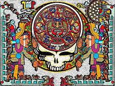 """3.25"""" Grateful Dead, Mayan calendar VINYL Bumper STICKER. 420 For car or bong."""
