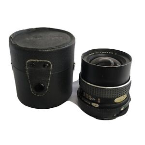 Mamiya Sekor C 55mm f2.8 - 22 S Lens (early) with original case - wide angle