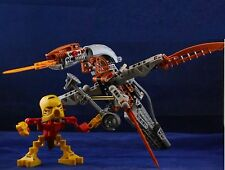Lego Bionicle Warriors Jaller and Gukko (8594) Complete & Free US Shipping