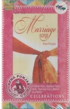 MARRIAGE SONGS FROM PUNJAB - BRAND NEW MUSIC AUDIO CASSETTE