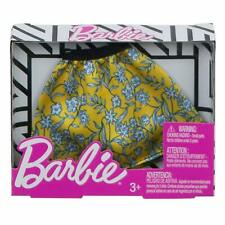 Barbie Floral Skater Skirt , Yellow - Multicolor