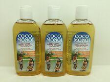 Coco Monoi Huile Solaire Corps sans Filtre 200 ML - 3 Pièces