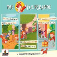 DIE FUCHSBANDE - 01/3ER DETEKTIV-BOX (FOLGEN 1/2/3)  3 CD NEU