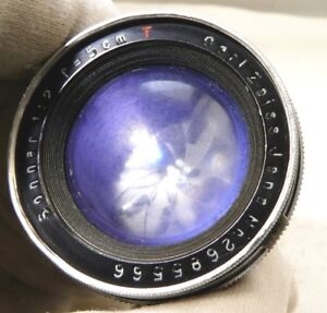 Contax RF Carl Zeiss Jena 5cm F2 Sonnar T Lens made in 1941