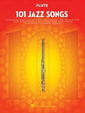 101 Jazz Songs for Flute Instrumental Solo Book New 000146363