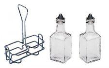 6 oz. (Ounce) Tabletop Oil and Vinegar Cruet Glass Bottle Bottles Cruets