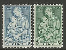 Ireland 1954 Marian Year--Attractive Art/Religion Topical (151-52) MH