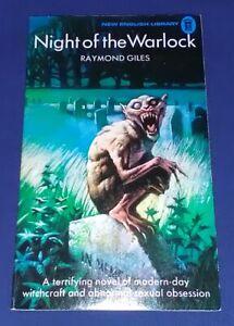 NIGHT OF THE WARLOCK by Raymond Giles - NEL Paperback 1974