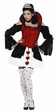 Alice in Wonderland, Queen of Harlots Hearts Adult Costume Size 2-4 Extra Small