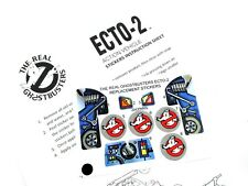THE REAL GHOSTBUSTERS 'DIE CUT' REPLACEMENT STICKERS for KENNER ECTO-2 Ecto 2
