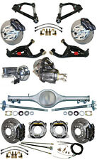 NEW SUSPENSION & WILWOOD BRAKE SET,CURRIE REAR END,CONTROL ARMS,POSI GEAR,676931