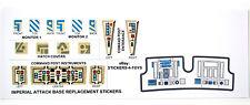 Kenner IMPERIAL ATTACK BASE PLAYSET Vintage Star Wars replacement Sticker +BONUS