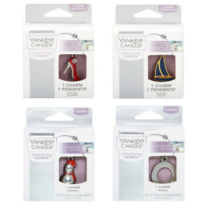 YANKEE CANDLE CHARMING SCENT CAR AIR FRESHENERS CHARMS TO LOCKET ** SELECT **