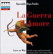 LA GUERRA D'AMORE (LOVE AS WAR) NEW CD