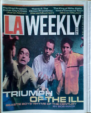 Beastie Boys - L.A. Weekly - Cover Story - Sept. 11-17, 1999 - 199 Page Magazine
