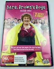 Mrs. Brown's Boys Series 3 DVD 2013 2-Disc Set R2 4 5 with Tracking