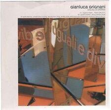 GIANLUCA GRIGNANI UGUALI E DIVERSI CD SINGOLO cds PROMO