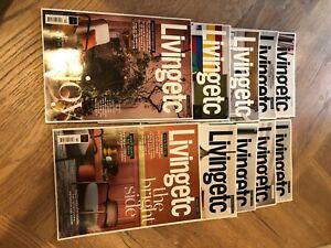 Ten new issues living etc interior design magazine 2020-2021