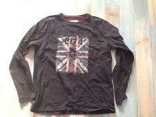 tee-shirt DEELUXE  taille L, bleu marine, Angleterre, 1974