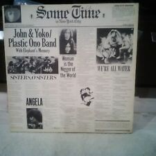 2 LP John Lennon & Yoko Ono/Plastic Ono Band Some Time In New York City EXC