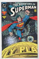 Adventures of Superman #505 (Oct 1993, DC) [Holo-Foil Cover] Kesel Tom Grummet