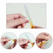 LIME VERRE COLOREE 140x12x3mm pour finition manucure parfaite ongles naturels