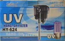 HaiYang UV Hang-On Aquarium Filter with UV Sterilizer UV7watt 500L/H HY-624