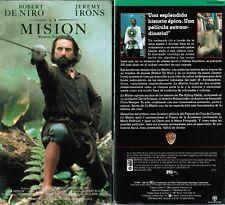 La Mission VHS Video Tape New Spanish Subtitled Robert De Niro Jeremy Irons