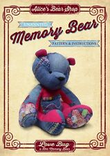 Sewing a Memory Bear - Pattern and Instructions A5 Booklet - Love Bug