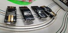 Slight Blems 2 Chevelle & 2 GTO Body Lot  MoDEL MoToRING HO slot car Fits T-jet