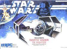 MPC ERTL 1:36 Star Wars the Authentic Darth Vader Tie Fighter Plastic Kit #8916U