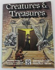 I.C.E. Creatures & Treasures - #1400 - 1985 - Softcover - Roleplaying D&D