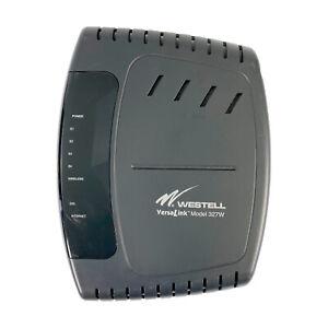 Westell VersaLink 327W 4-Port Wireless 802.11g DSL Router A90-327W15-06