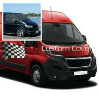 CITROEN RELAY VAN 2006 ON WINDSCREEN SCREEN FROST WRAP COVER 373 BLACK